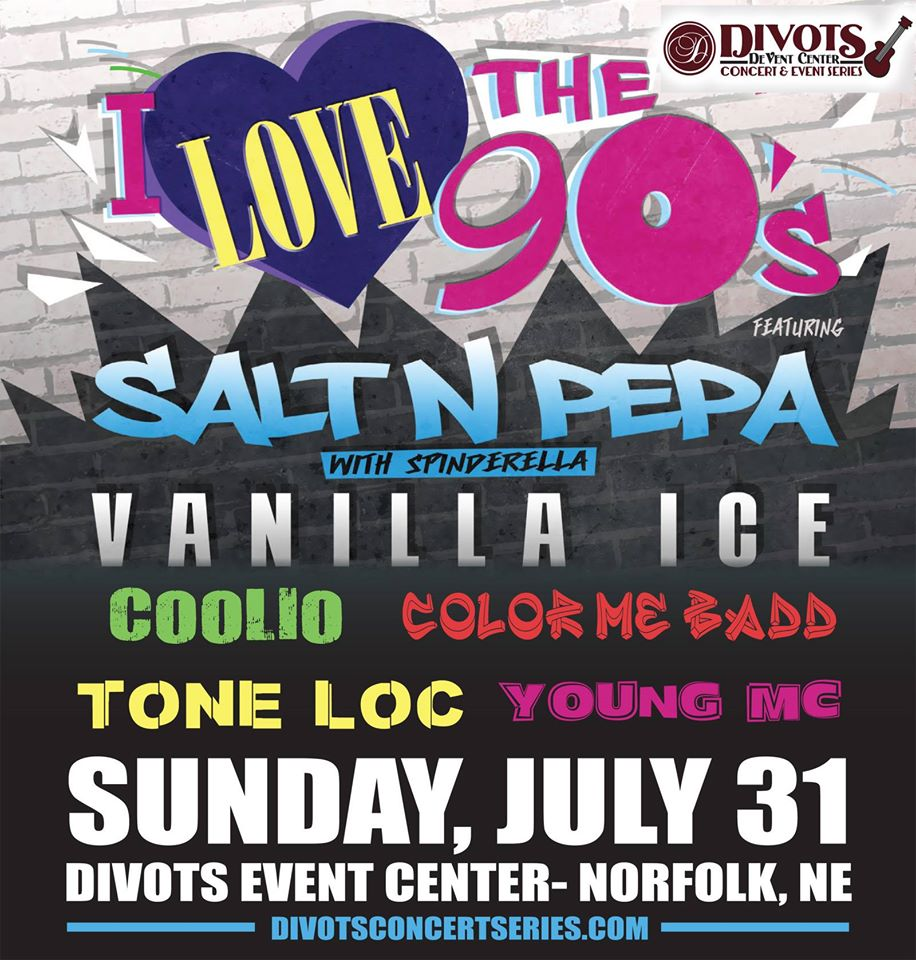 Live Music Concert, I Love The 90's featuring 