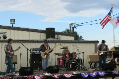 Northeast Nebraska Band Rivermill Express performing live at the American Legion in Norfolk, NE
